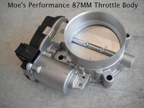 Moe's Performance 87MM Throttle Body Install