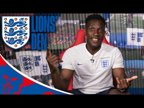 LIVE With Danny Welbeck! | Lions' Den Episode Four | World Cup 2018