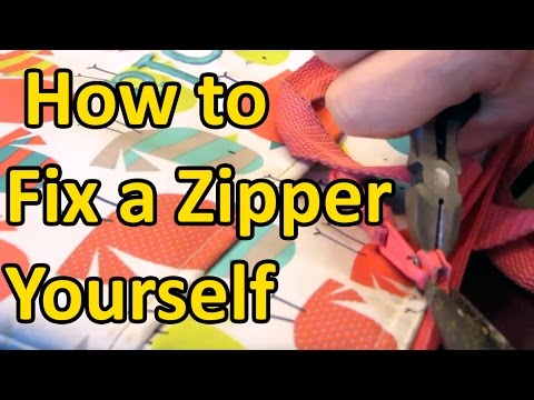 How to Fix a Zipper Yourself