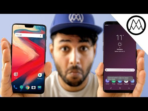OnePlus 6 vs Samsung Galaxy S9 Plus