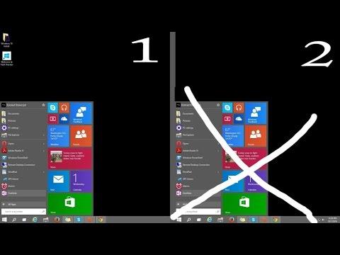 Hide Start Button & Taskbar from Second Monitor - Windows 10