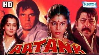 Aatank {HD} (With Eng Subtitles) -  Dharmendra - Hema Malini - Ravi Kissen