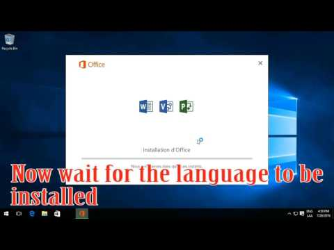 How to Change Microsoft Word 2016 Language - WORKS 100%
