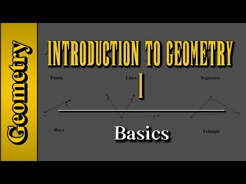 Geometry: Introduction to Geometry (Level 1 of 7) | Basics
