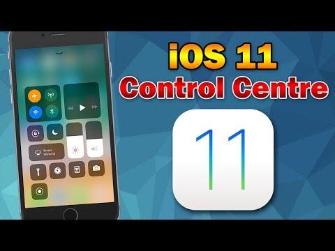 iOS 11: Control Center