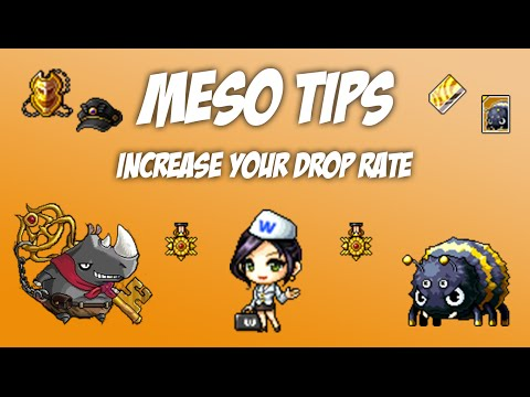 Maplestory - Meso Tips - 3 Ways to Increase Drop Rate