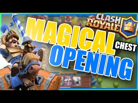 Clash Royale - Magical Chest Opening! 2400 Trophies!