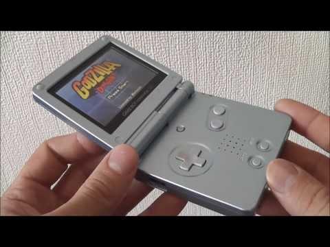 Australian AGS-101 Nintendo GameBoy Advance SP - Backlit Aussie SP? - Pearl Blue
