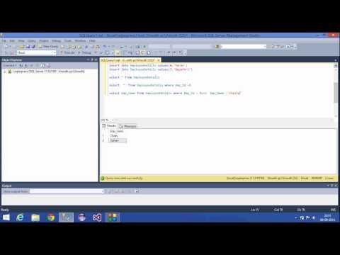 3.SQL Server Tutorial-Hindi(Select,Alter,Drop,Truncate)