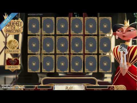Online Winner: Queen of Diamonds