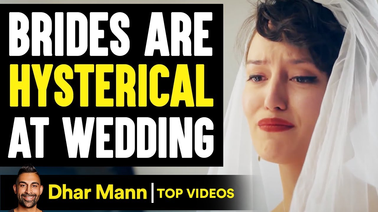 BRIDES Are HYSTERICAL At Wedding, What Happens Is Shocking   Dhar Mann