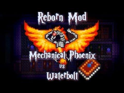 Terraria - [Reborn Mod] Mechanical Phoenix kill Hardmode boss