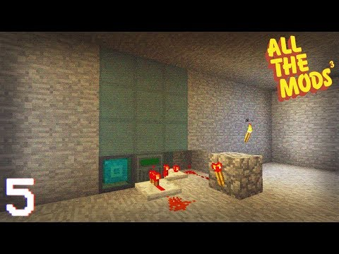 All The Mods 3 | Nuclearcraft Fission reactor! | E05 (All The Mods 3 Let's Play)