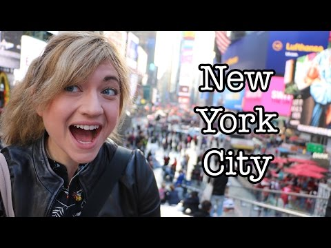 NEW YORK CITY TRAVEL VLOG | Drone Footage, Times Square, The Met, Subway, Freedom Tower, Vegan Food