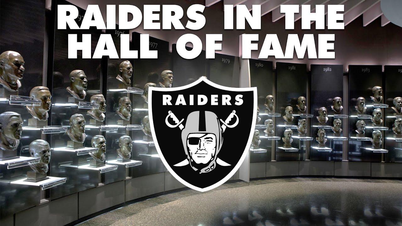 26 Raiders in the Pro Football Hall of Fame   Las Vegas Raiders   RaiderLadies.com