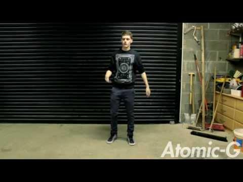 Atomic-G   Basics of Dope dancing  Dubstep