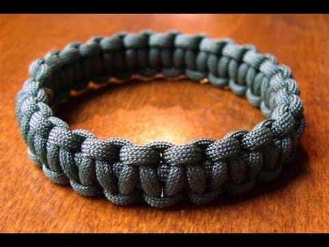 Slip-on Paracord Bracelet Slide Show Tutorial