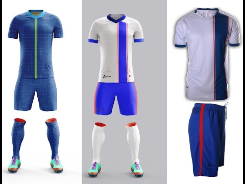 Custom Soccer Uniforms Kit - Design and Creation