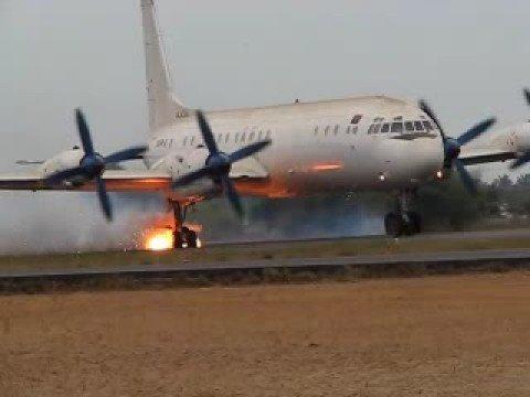 Ilyushin IL-18 Aborted take off