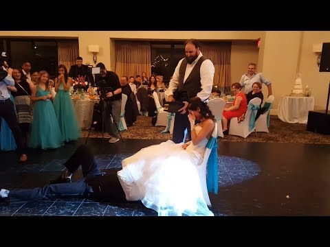 Best Hilarious Wedding Garter Removal