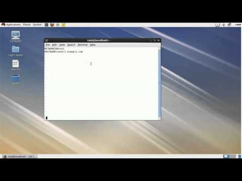 How to change hostname in linux 6