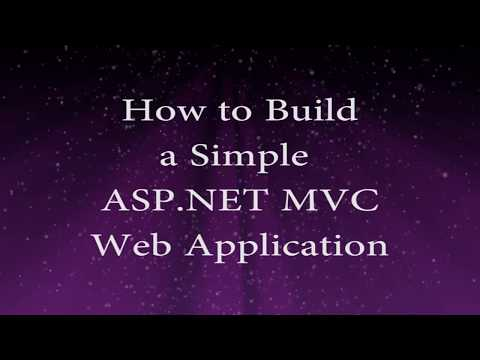 How to Build a Simple ASP.NET MVC Web Application