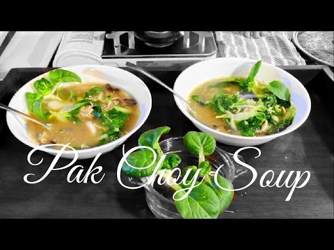 HD  How to Make Pak Choy Soup - Asian Redneck Fusion Cooking Recipes