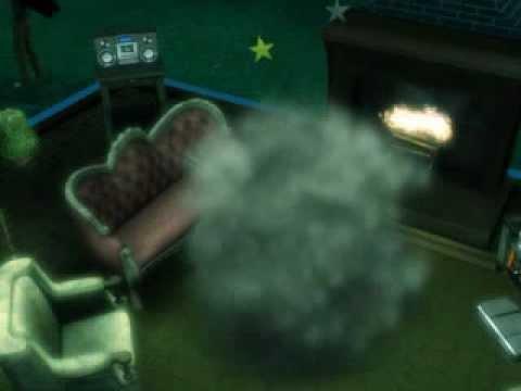 werewolf attacking sims