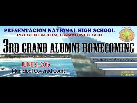 PNHS 3rd Grand Alumni Homecoming 2015