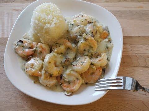 椰奶煮蝦  Easy Coconut Shrimp