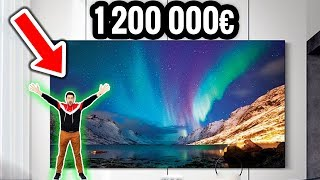 La TV Géante à 1 200 000€ et 292 pouces ! (j'achète ?)
