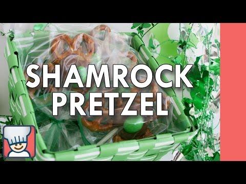 How to make shamrock pretzels