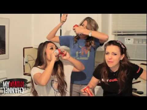 SHOTGUNNING BEERS WITH EXOTICJESS AND OLGAKAY