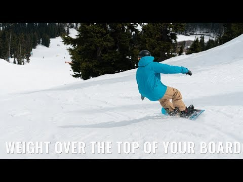 How To Keep Your Weight Over The Top Of Your Board