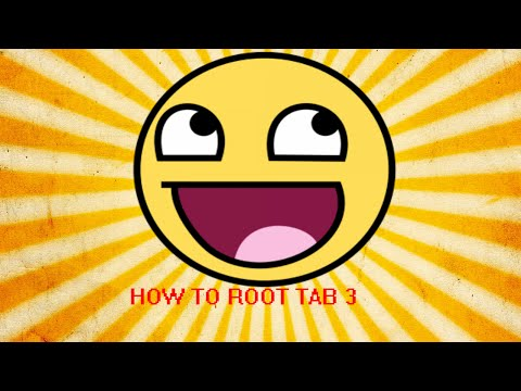 How to root Samsung Tab 3(With PC)