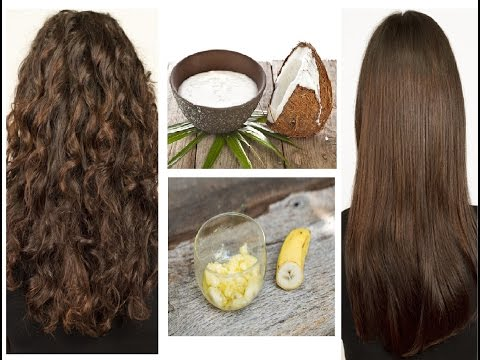 Hair Straight Treatment At Home in Hindi / Get Silky Smooth Long Shiny  Straight hair