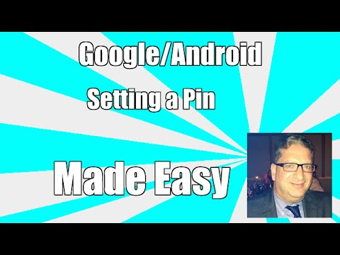 How to set up a pin number on your android phone - Samsung Galaxy Note 5