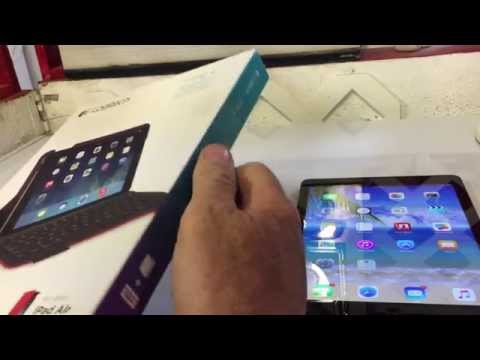 Logitech Type + Keyboard and Case for Ipad Air and Ipad Air 2  An owner review.