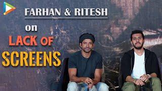 Farhan Akhtar, Ritesh Sidhvani on lack of cinema screens in India vs China