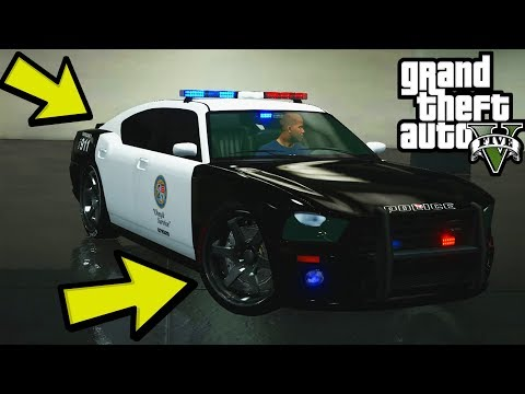 How to Mod the Police Car in GTA 5 Story Mode Offline (Ps4, Xbox One, PS3, Xbox 360)