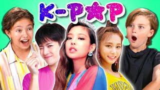 Download Kids React To K-Pop Video