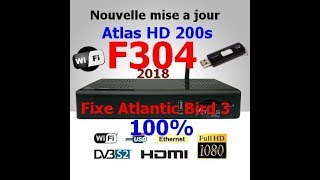 mise a jour atlas hd 200s 2018 f304