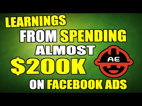 Learnings From Spending $200,000 On FaceBook Advertising