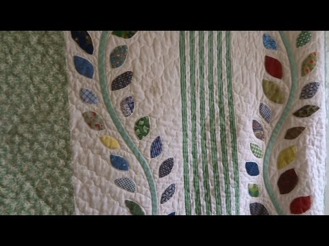 How to make a curved vine for applique