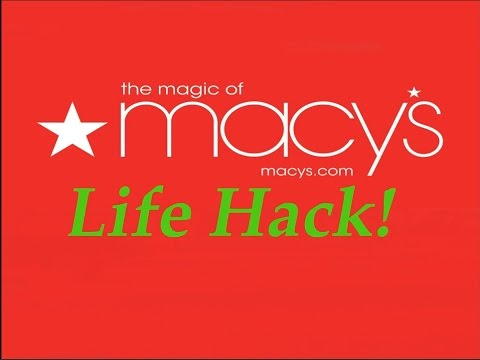 How to save BIG at Macy's