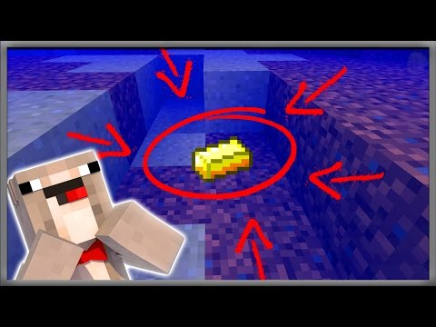 Minecraft FISHING FOR GOLD