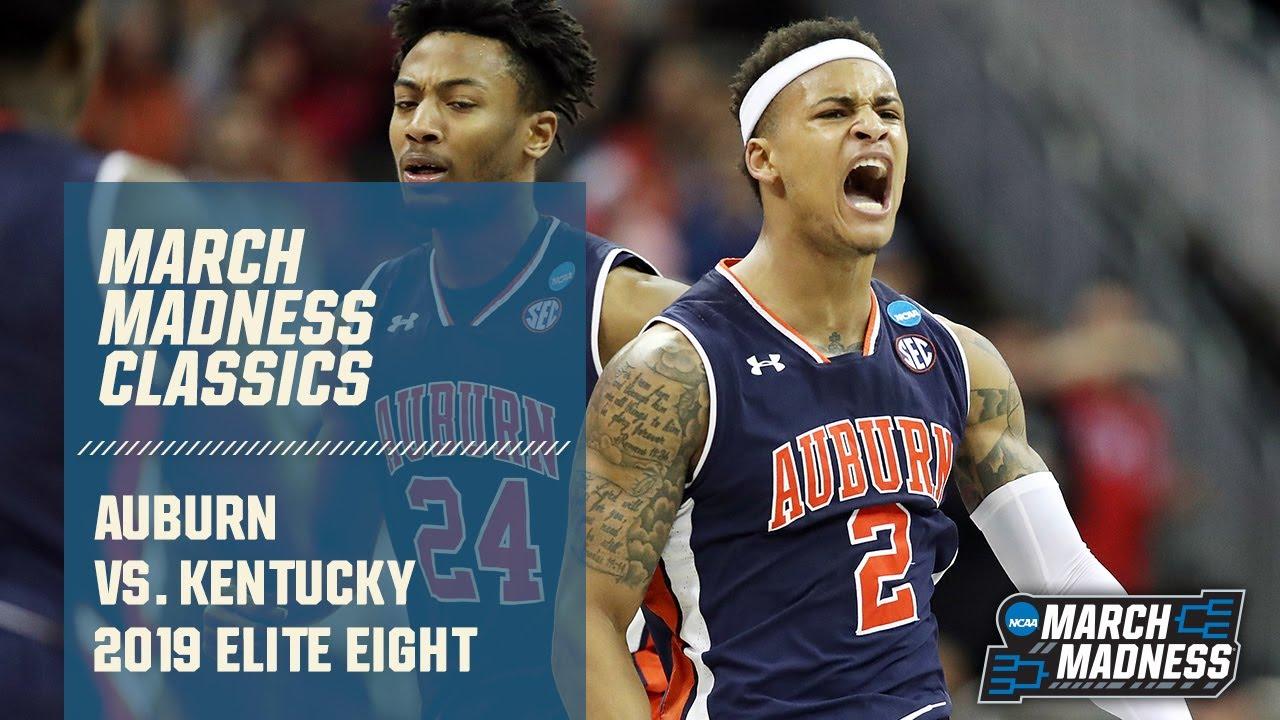 Auburn vs. Kentucky: 2019 Elite Eight   FULL GAME