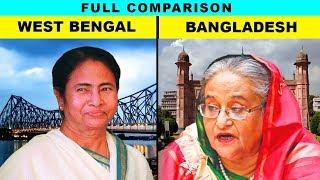 West Bengal vs Bangladesh (Hindi) Full comparison UNBIASED 2019 | Natasha Dixit | India