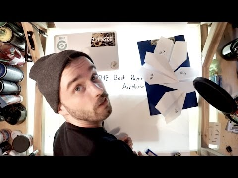 Making the Best Paper Airplane in the World