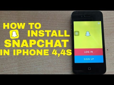 How to install Snapchat In iphone4,4s|Iphone 4s Snapchat Problem Solved|Install Snapchat In Ios9.3.5